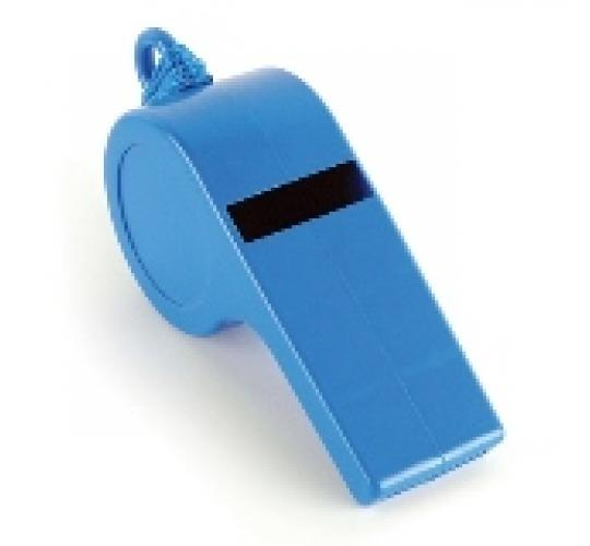 Wholesale Joblot Of 200 Big Blue Plastic Whistles TA0207BL