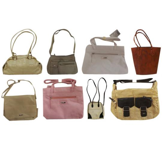 Wholesale Joblot of 50 Ladies Handbags Good Mix of Styles & Designs