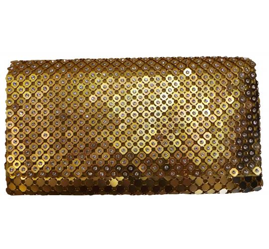 Wholesale Joblot of 5 Madame Posh 'Indira' Gold Clutch Bags 41592