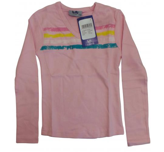 Wholesale Joblot of 20 Girls LA Gear Long Sleeve Pink Tops Sizes 7/8 - 13/14