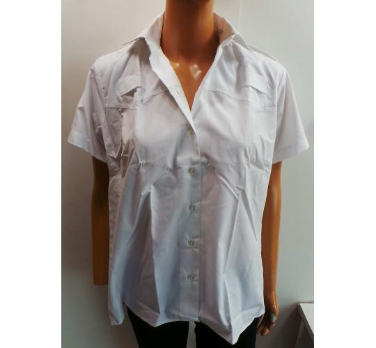 Wholesale Joblot of 30 Van Heusen Ladies Short Sleeve White Shirts