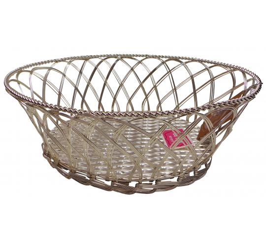 One Off Joblot of 7 Madame Posh 'Salome' Metal Baskets 11709