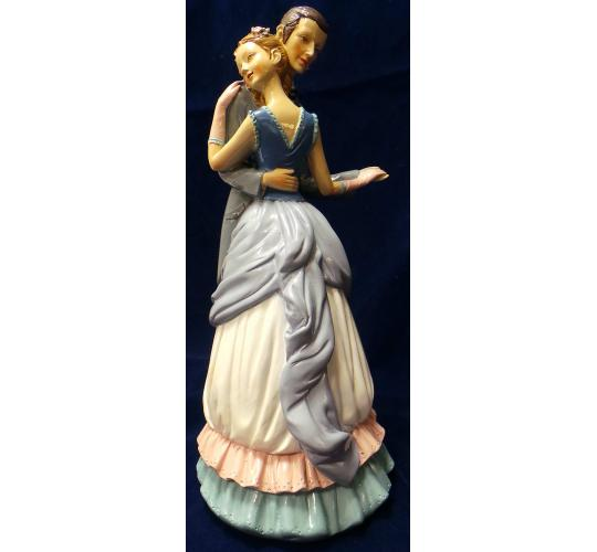 One Off Joblot of 6 Madame Posh 'Loure' Dancing Couple Figurines 41617