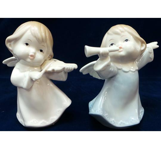 Wholesale Joblot of 33 Madame Posh Musical Angel Figurines 2 Styles 40122/4
