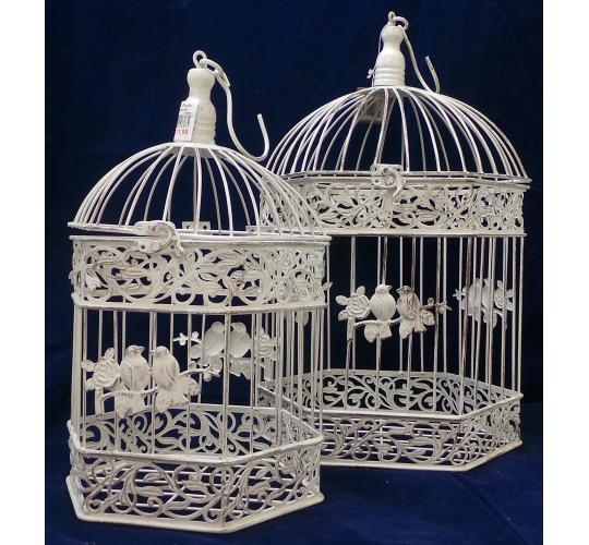 Wholesale Joblot of 8 Madame Posh 'Ora' Decorative Cages 2 Sizes 40287