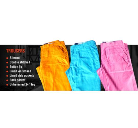 MEN'S TROUSERS - Superb Quality - 100% Cotton Lined Tailored Superior Wacky Suits Medium Large and X Large