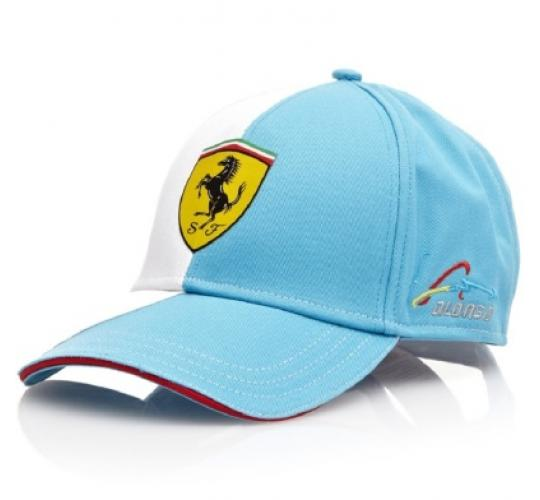 Job Lot of 100 Formula One Ferrari F1 Alonso Adult Size Caps