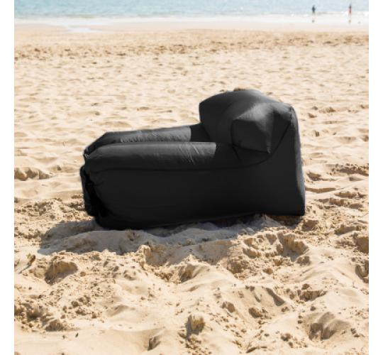 SELF INFLATABLE POD Chairs With BACK PILLOW inc. Storage Bags - These AIR LOUNGER INFLATABLE PODS Enables People To Have An INFLATABLE CHAIR Wherever