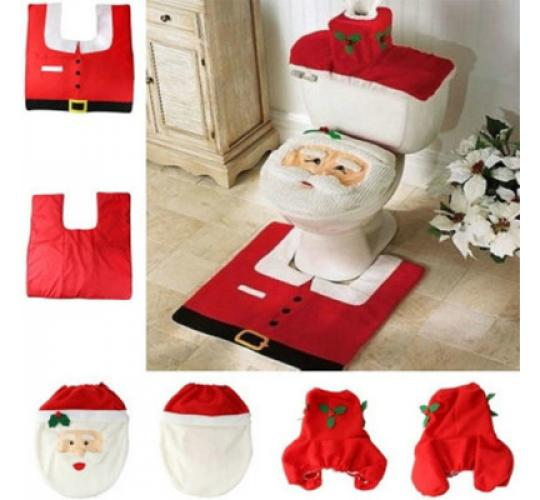 300 x Santa 3 pc toilet set