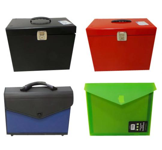 Pallet of 203 File Storage Boxes Files & Organisers Various Colours