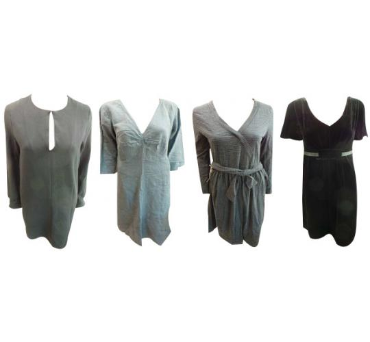 One Off Joblot of 9 Ladies High End Branded Dresses Mixed Styles & Sizes