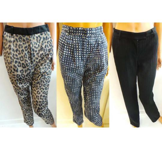 Joblot of 5 Ladies Branded Trousers 5 Styles Laurence Dolige, Woolrich Etc