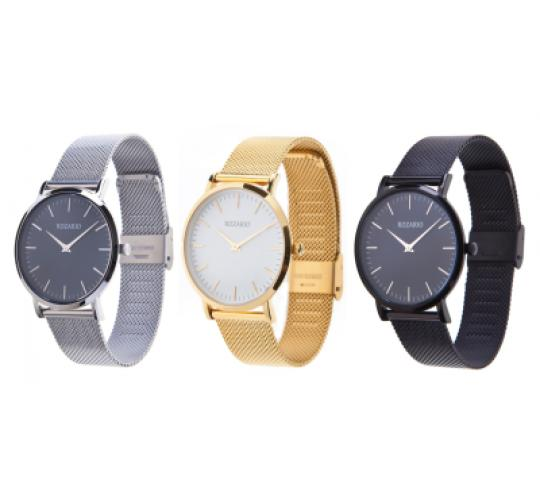 Rozario Unisex Watches, Stainless Steel