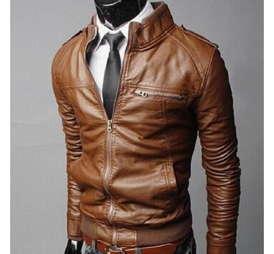 Wholesale Joblot Of 20 Mens Faux Leather Biker Jackets In Three Colours