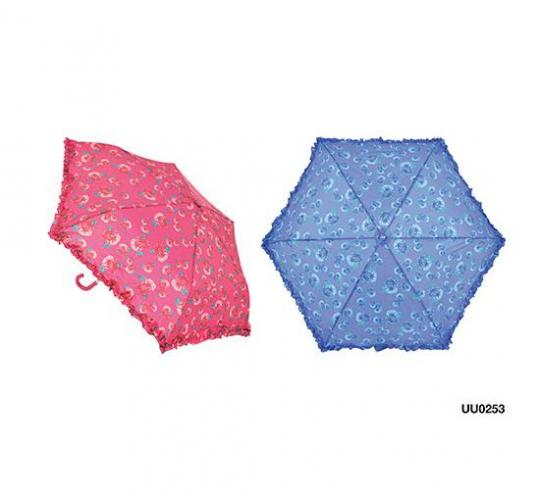 Wholesale Joblot Of 48 Super Mini Umbrellas With Frill Design Two Colours