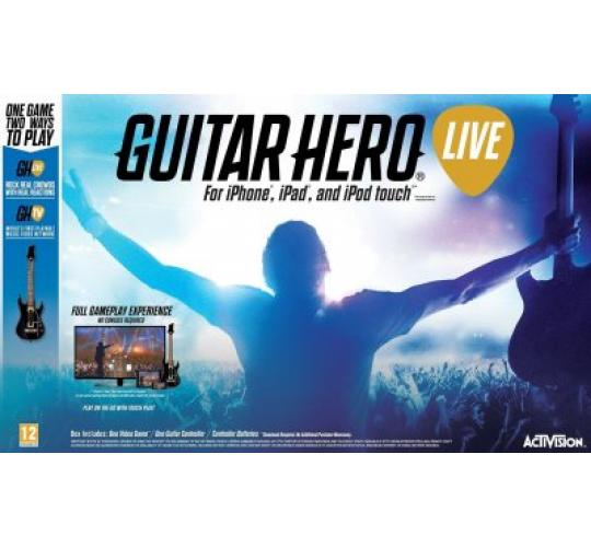 120 x Guitar Hero Live IOS Game and Guitar Bundle