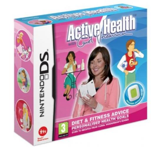 120 x Active Health Carol Vorderman Nintendo DS Game + Activity Meter Brand New