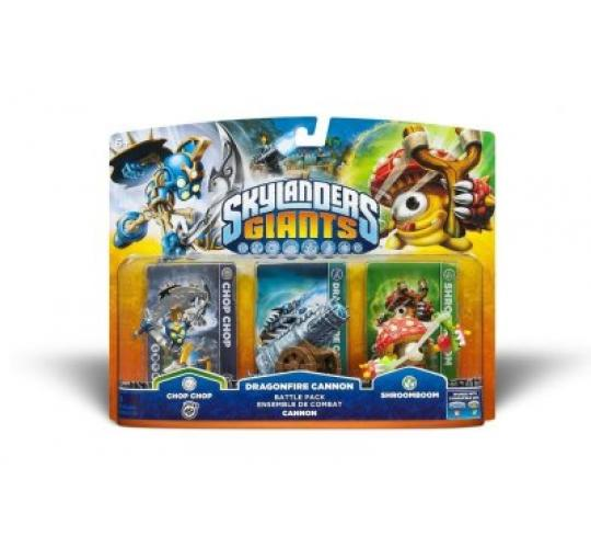 100 x Skylander Giants Cannon Battle Pack