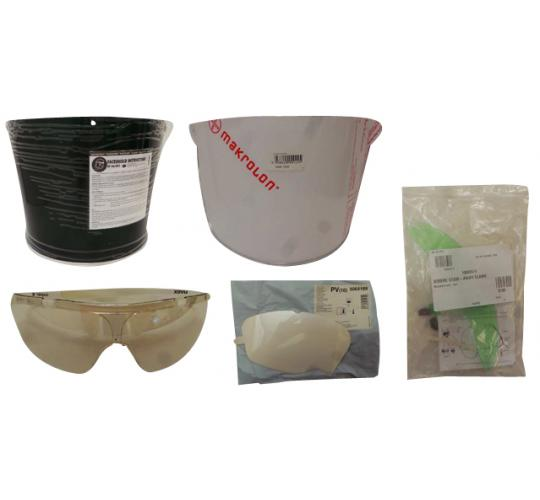 One Off Joblot of 43 Workwear Safety Visors & Specs 6 Types
