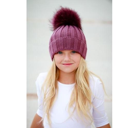 Joblot 12 X Kids/Grisl/Teens Winter Pom Pom Hats Wholesale Clearance