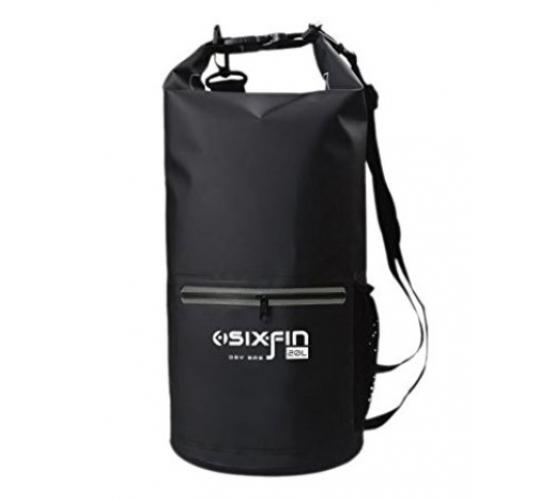 Waterproof Dry Bag Backpack, large (20L), Sixfin