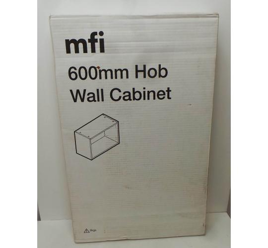 One Off Joblot of 56 MFI 600mm White Hob Wall Cabinets NCFW360