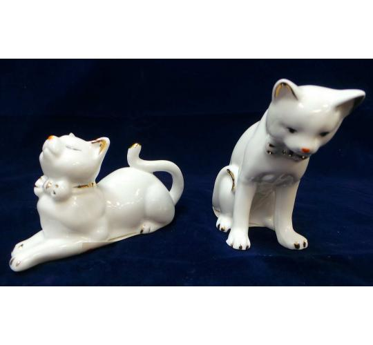One Off Joblot of 62 Madame Posh Cat Figurines 2 Styles 40485/6