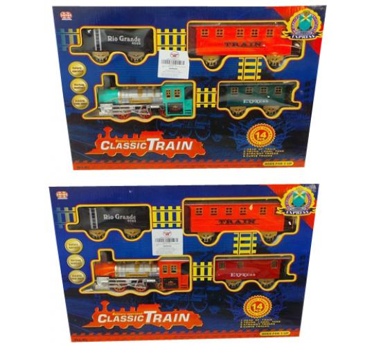 Wholesale Joblot of 9 Dazzling Toys Battery Operated Train and Track Sets D278