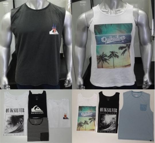 Wholesale Joblot of 50 Quiksilver Mens Vest Tops Mixture of Styles & Colours