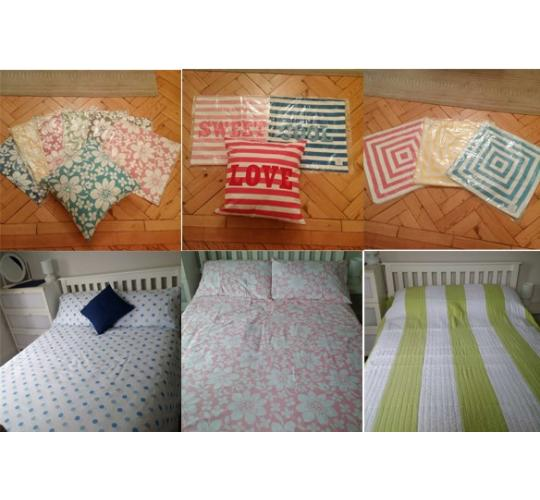 Joblot of 2314 Mixed Bedding Items Inc Duvet Covers, Quilts, Pillow Cases Etc