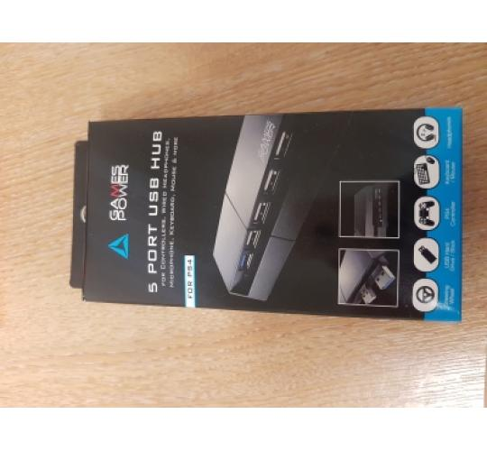 200 x Logic 3 Branded 5 Port USB HUB PS4