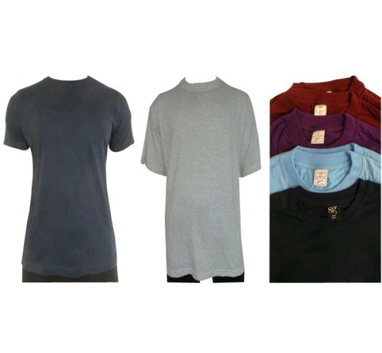 One Off Joblot of 22 Mens Premium Cotton T-Shirts Variety of Colours & Sizes