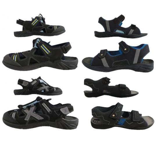 One Off Joblot of 12 Ricosta Sandals Mens & Boys Good Variety of Styles