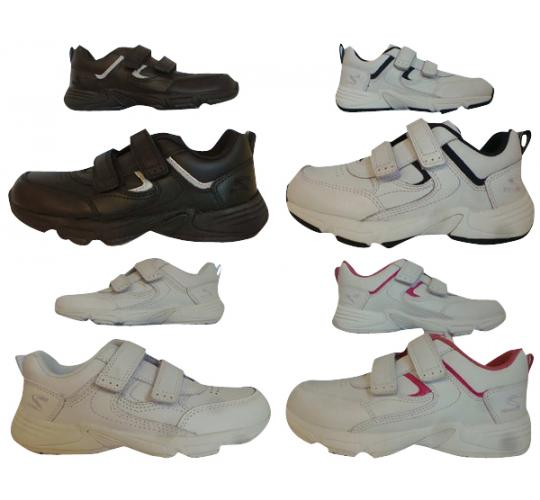 Wholesale Joblot of 10 Start Rite Childrens Meteor Velcro Trainers 4 Colours