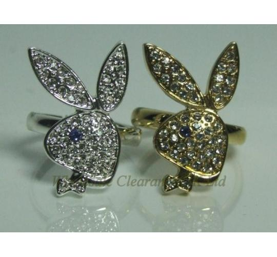 WHOLESALE JOBLOT OF 10 PLAYBOY LADIES MIXED BUNNYHEAD RINGS