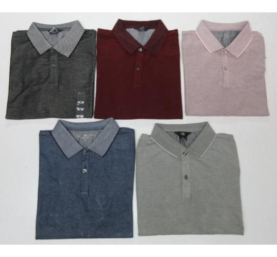 Wholesale Joblot of 50 Calvin Klein Mens Polo Shirts 5 Colours Sizes S-2XL