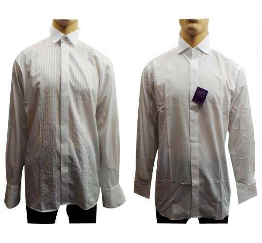 Wholesale Joblot of 10 Mens White Smart Shirts Perfect For A Wedding