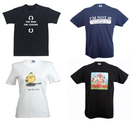 Wholesale Joblot of 100 Assorted Mens & Ladies T-Shirts Slogans & Print Designs