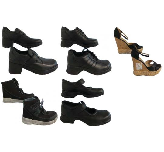 One Off Joblot of 5 Mixed Defected Shoes Womens & Boys Styles Sizes 4-7