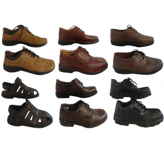 One Off Joblot of 9 Mixed Mens Branded Defected Shoes Variety of Styles & Sizes