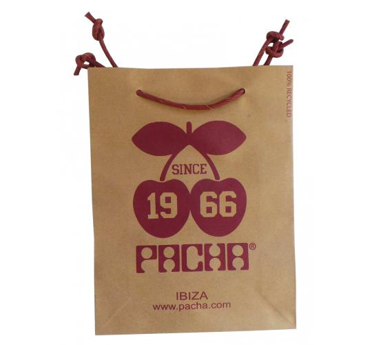 Wholesale Joblot of 100 Pacha Ibiza 100% Recycled Paper Bags
