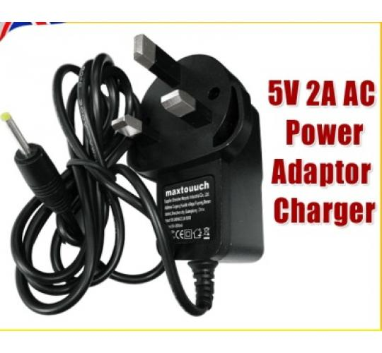 100X 3 Pin 5V Power Adapter 2A AC-DC Switching Power Supply Adapter Plug  +GIFTS