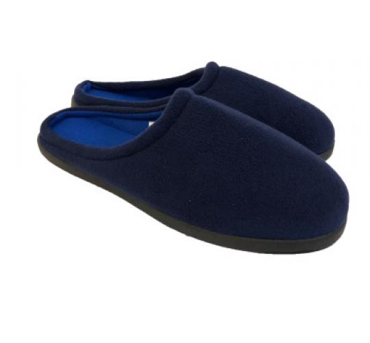 Joblot of 80 pairs of Mens Navy Open Back Slippers