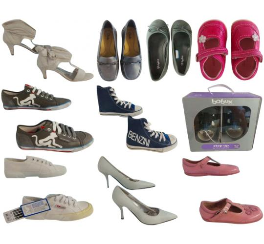 One Off Joblot of 49 Assorted Defected Shoes Mens, Womens & Kids Huge Variety