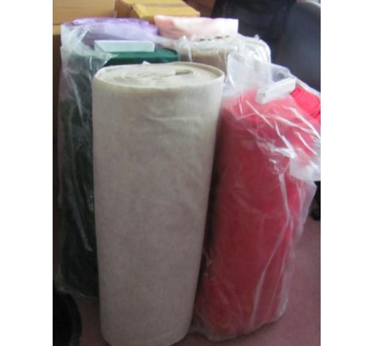 "6 x Very large rolls of Kunin felt. 72"" x 20 yards. Different colours"