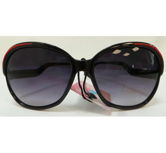 Wholesale Joblot Of 20 Black and Red Oversized Statement Sunglasses SG-124