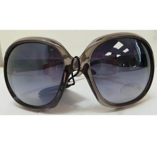 Wholesale Joblot Of 20 Oversized Grey Transparent Sunglasses SG-163