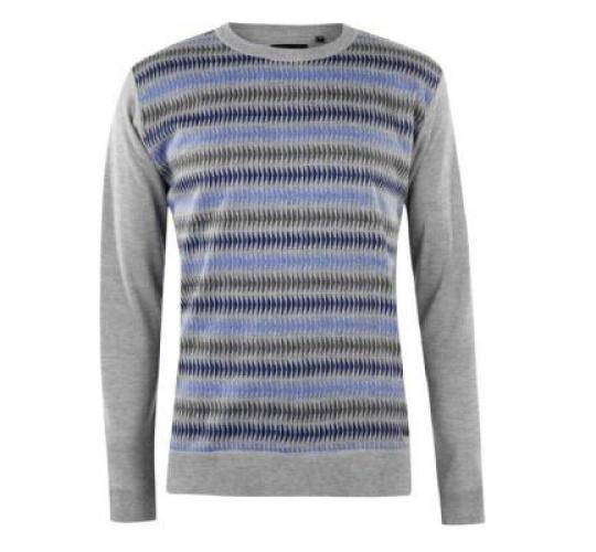 Mens Pierre Cardin Geo Knit Jumper Joblot x 30pc