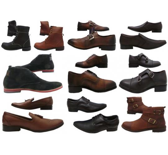 Wholesale Joblot of 100 Tag1 London Mens Formal Shoes & Boots Mixed Styles