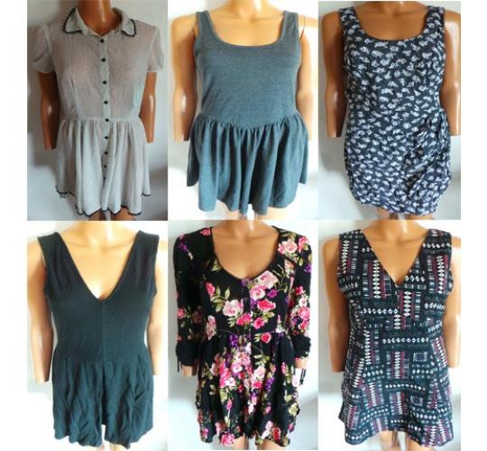 One Off Joblot of 10 Mixed Ladies Dresses 10 Styles Various Brands & Sizes